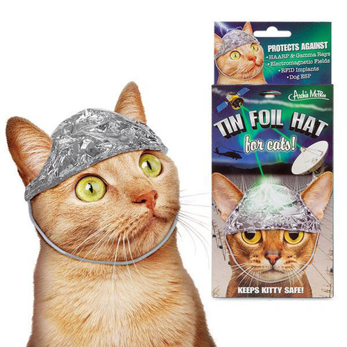 Tin Foil Hat For Cats