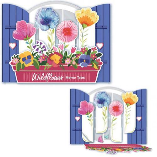 Wildflower Memo Tabs