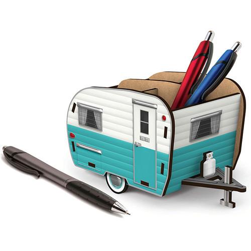 Happy Camper Pencil Holder