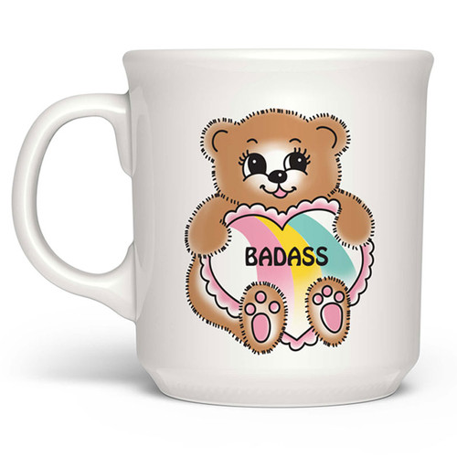 Say Anything Mug - Badass Teddy Bear