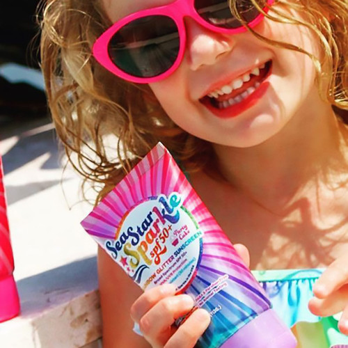 Rainbow Glitter Scented Sunscreen - Reef Safe