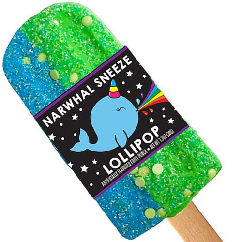 Narwhal Sneeze Lollipop