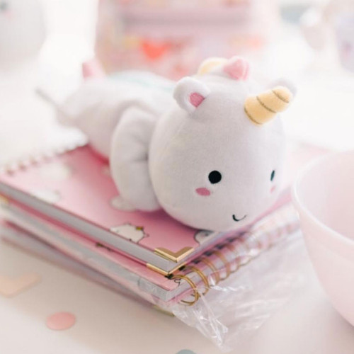 Elodie Unicorn Plush Pencil Case