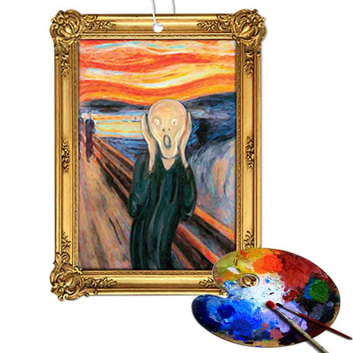 The Scream Air Freshener