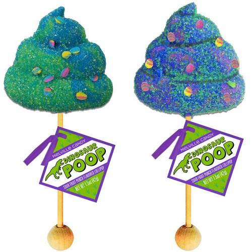 Dinosaur Poop Lollipop