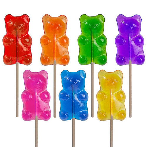 Sugar Bear Lollipop