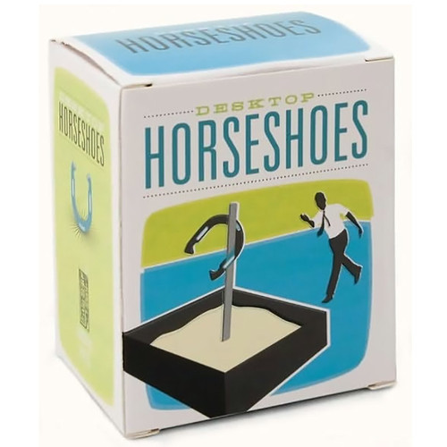 Desktop Horseshoes Kit For Your Desk - Cube Goodie