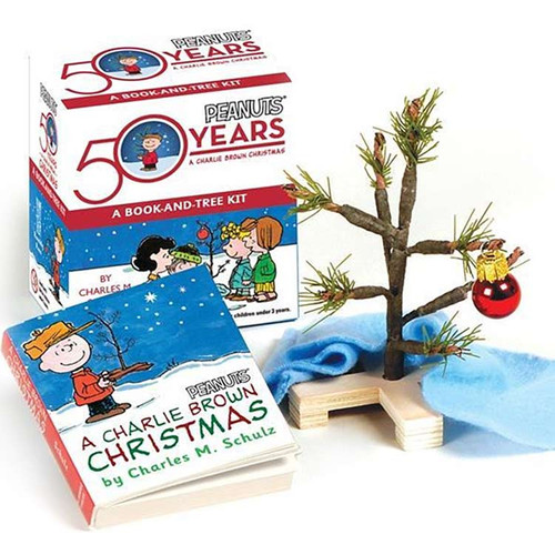 A Charlie Brown Christmas:  Mini Book + Tree Kit
