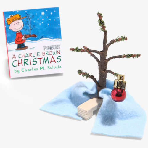 A Charlie Brown Christmas Mini Book Tree Kit Gift