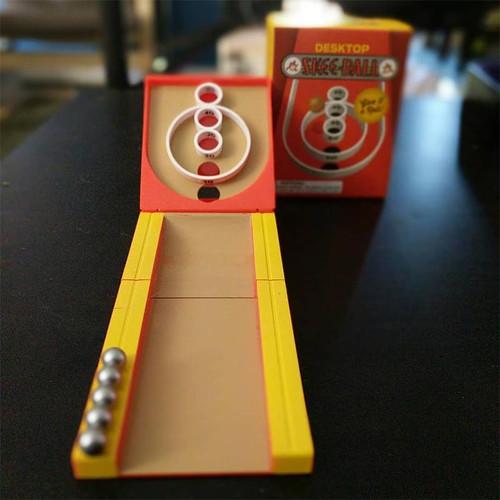Mini Desktop Skee-Ball Game