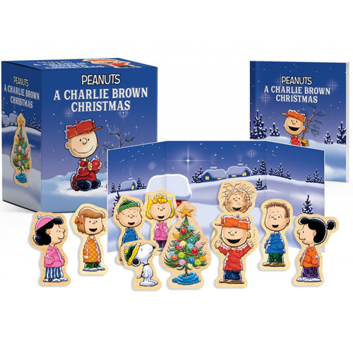 Peanuts: A Charlie Brown Christmas Wooden Collectible Set