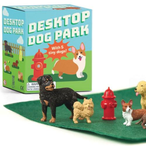Desktop Dog Park Mini Kit For Your Desk
