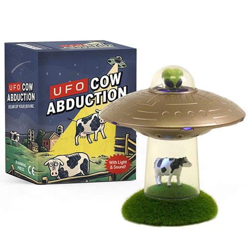 UFO Cow Abduction Toy Light