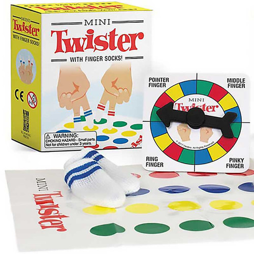 Mini Twister Game with Finger Socks