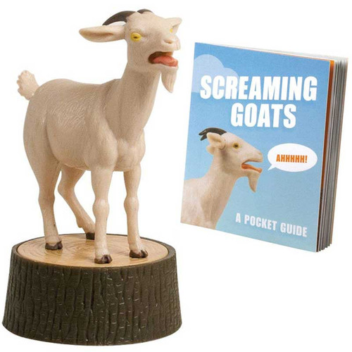 The Screaming Goat Mini Book + Figure