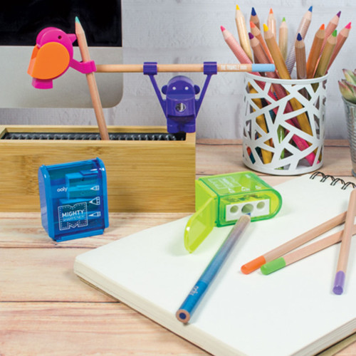 Bird's Eye View Sharpener And Pencil Holder