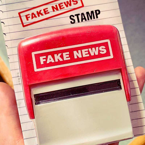 President Donald Trump Fake News Stamper