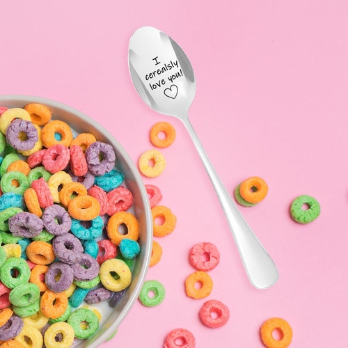I'm serious... I Cerealsly Love You Spoon