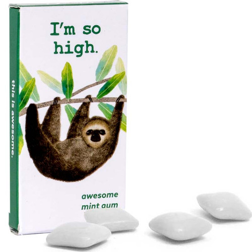 I'm So High. Sloth Blue Q Gum