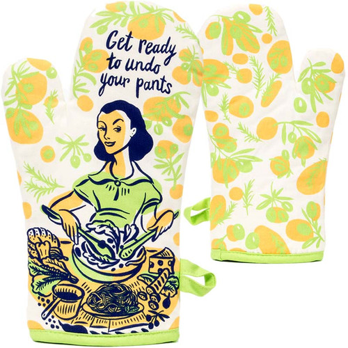 Undo Your Pants Oven Mitt by Blue Q