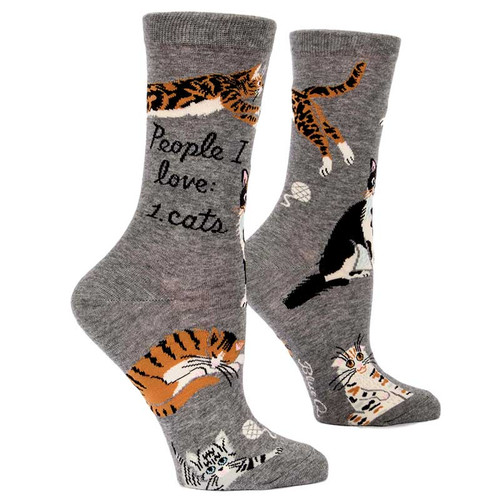 People I Love: Cats. Socks