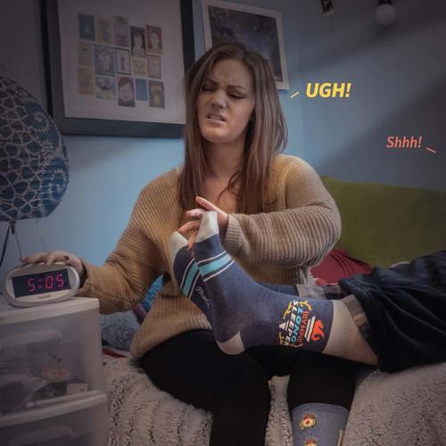 People who love to sleep socks!