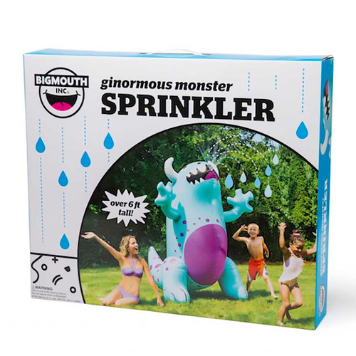 Ginormous Monster Yard Sprinkler Box