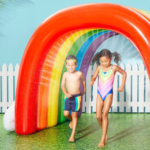 Ginormous Rainbow Tunnel Sprinkler