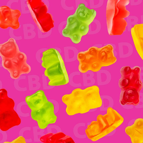 Sugar-Free CBD Gummy Bears