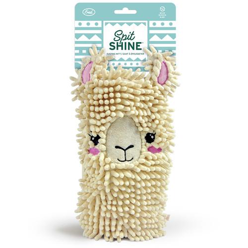 Spit Shine Llama Duster Mitt