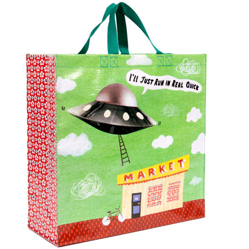 I'll Just Run In Real Quick UFO Shopper