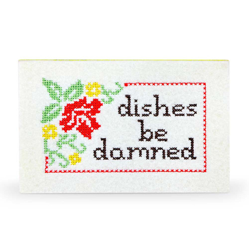 Dishes Be Doomed Subversive Cross-Stitch