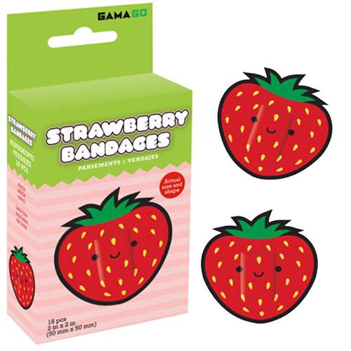 Strawberry Bandages from Gamago