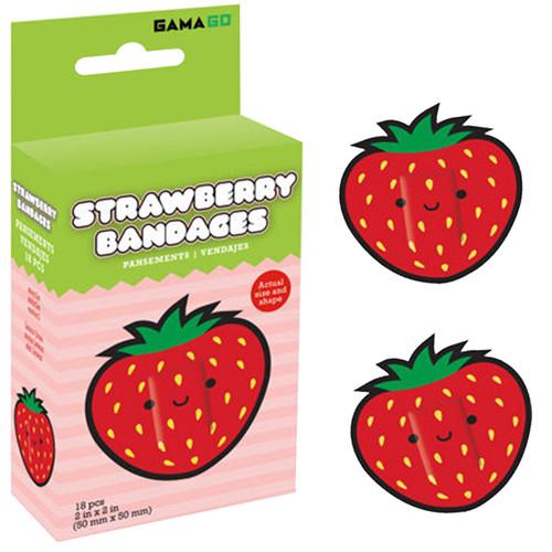 Sweet Strawberry Bandages