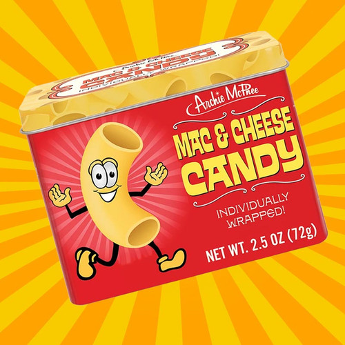 Mac & Cheese Candy from Archie