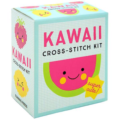 Kawaii Cross-Stitch Kit: Super Cute!