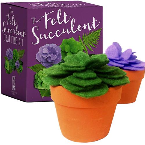 The Felt Succulent Crafting Kit
