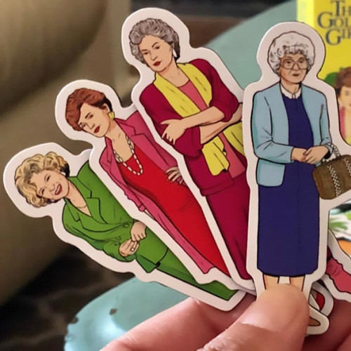 The Golden Girls Magnet Set Now Available