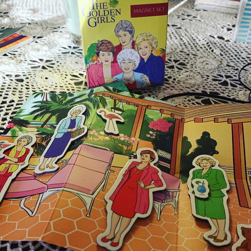 The Golden Girls Magnet Set Makes a great stocking stuffer!