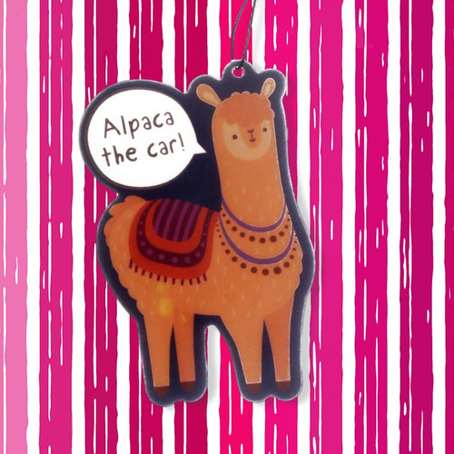 Alpaca The Car Air Freshener