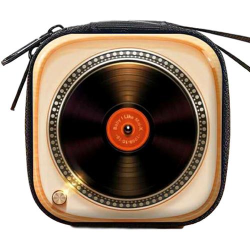 Record Player Retro Earphone Case