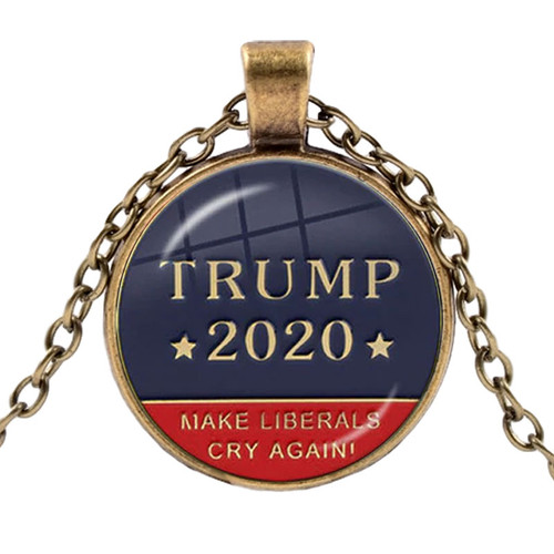 Trump 2020 Necklace Make Liberals Cry Again