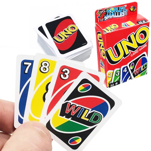 Official World's Smallest Uno Card Game