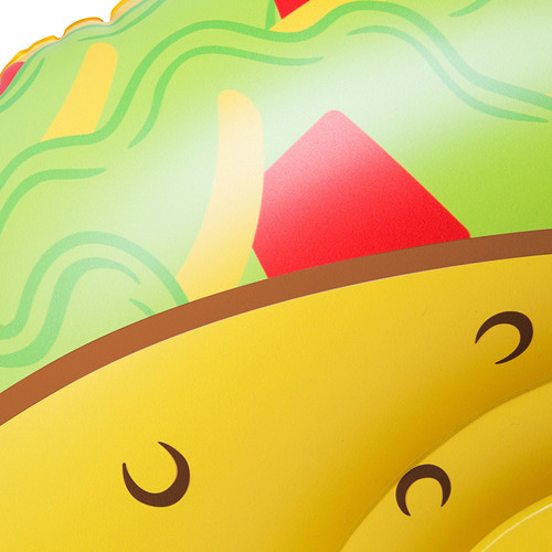 The Tasty Taco Snow Tube