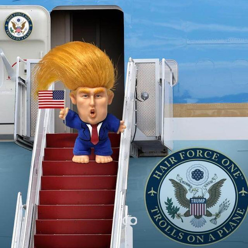 President Donald Trump Toy Doll