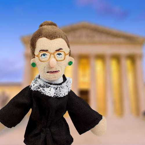 Ruth Bader Ginsburg Magnetic Personality Puppet