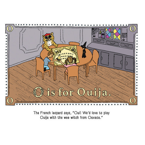 O is for Ouija