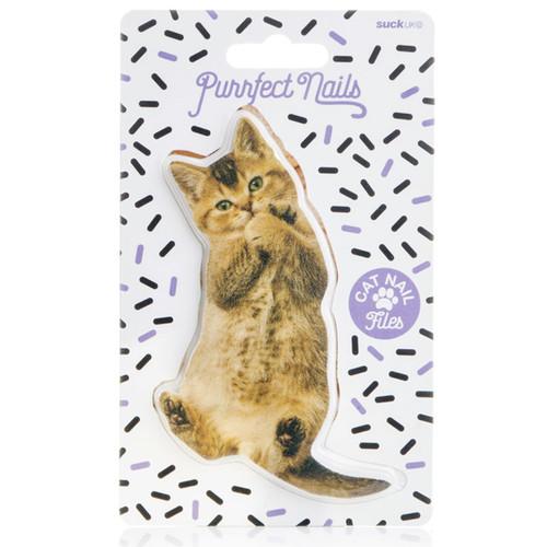 Purple Style Cat Nail File