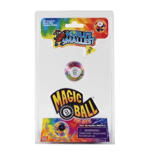 World's Smallest Magic 8 Ball Tie Dye