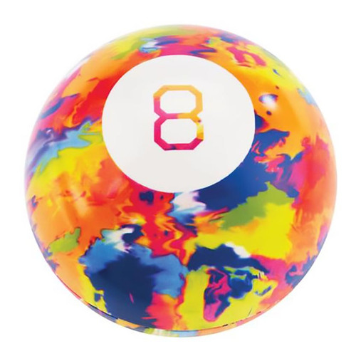 World's Smallest Magic 8 Ball Tie Dye Limited Edition